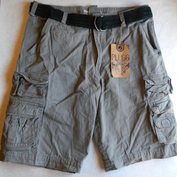 b5c0a2a387 Plugg Shorts | Mens Cargo Short Size 36 Nwt Vintage Grey New | Poshmark